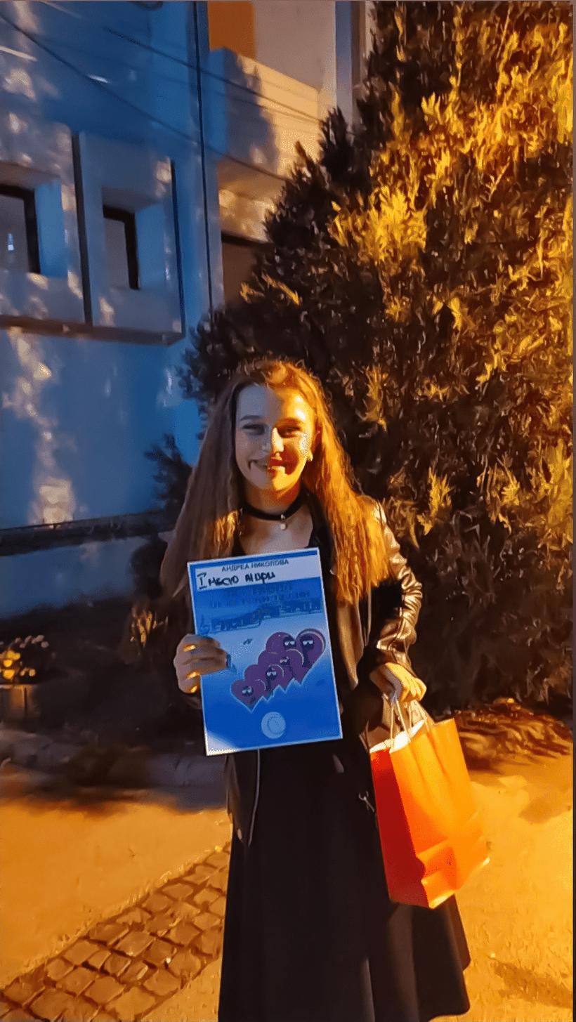 Кратовчанката Андреа Николова освои прва награда на фестивал за детски песни